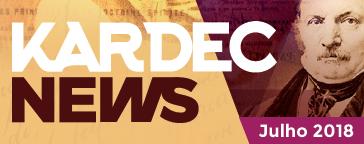 KARDEC News  | Julho 2018 - Paz aos Homens de Boa vontade